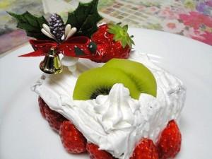 クリスマスデコレーションケーキ
